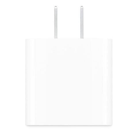 Apple/苹果20W USB-C手机充电器插头适用iPhone12/11 iPad PD快充