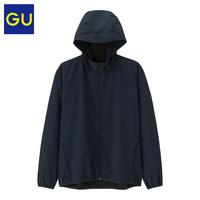 GU 极优 320979 男装防风连帽外套