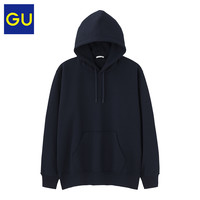GU 极优 321603 男装连帽套头卫衣