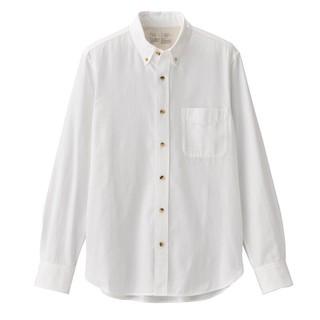 MUJI 无印良品 M9AC526 男士法兰绒衬衫