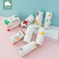 柚子森林 婴儿纱布口水巾 5条装
