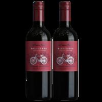 Cono Sur 柯诺苏西拉 自行车版赤霞珠干红葡萄酒 750ml*2