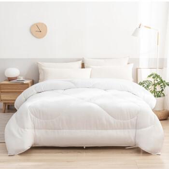 京东京造 超柔被芯 舒弹丝被 四季被 单人床 宿舍 学生 儿童床 盖被 3斤 150*200cm白色