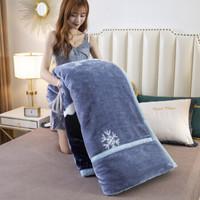 移动专享:索隆家纺 双层加厚拉舍尔毛毯 150*200cm 约4斤