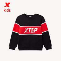 XTEP 特步 儿童保暖套头卫衣