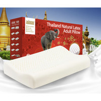 京东PLUS会员:TAIPATEX 泰国进口乳胶透气曲线养护枕