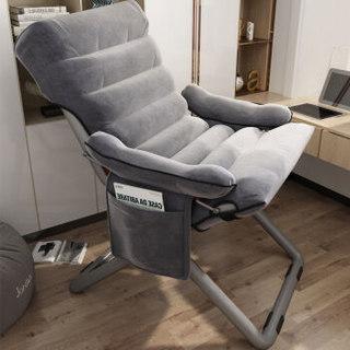 电脑椅靠背懒人椅宿舍沙发椅折叠躺椅
