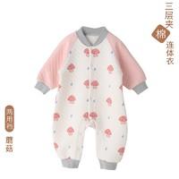 Nan ji ren 南极人 婴儿纯棉连体衣