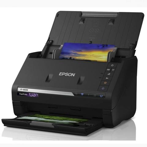超值黑五、中亚Prime会员:EPSON 爱普生 FF-680W 相片扫描仪