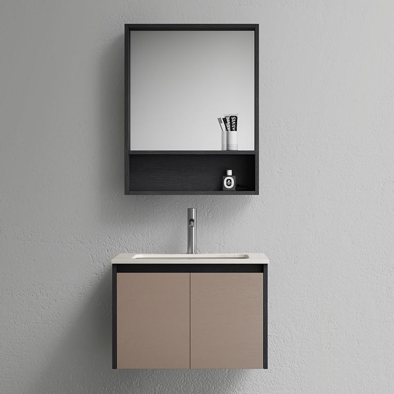 diiib 大白 DXYSG600M 浴室柜组合 白玉岩板600套装