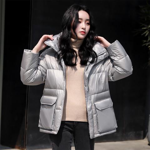 SNOW FLYING  雪中飞 X00140830 女士短款面包羽绒服