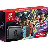 Nintendo 任天堂 Switch 马车8同捆套装 送三个月会员