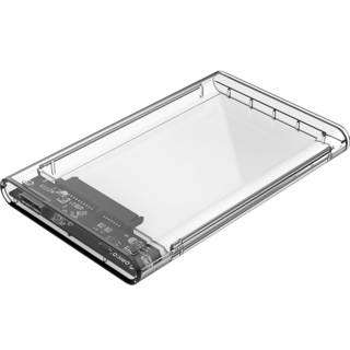 Orico奥睿科移动硬盘盒2.5英寸通用固态透明外置外接盒子usb3.0笔记本电脑台式type-c机械改保护读取硬盘外壳