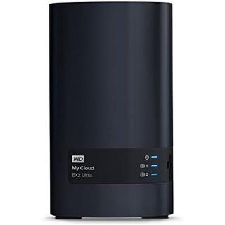 WD 西部数据 Diskless My Cloud EX2 Ultra 双盘位NAS 8TB