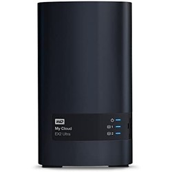 WD 西部数据 Diskless My Cloud EX2 Ultra 双盘位NAS 8TB