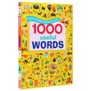 凯迪克图书 点读版1000useful words DK出品1000个常用的单词 场景认知 图解单词书 英语启蒙 原版绘本
