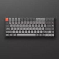 京东京造 K2 84键 蓝牙双模 机械键盘(Gateron茶轴、背光)