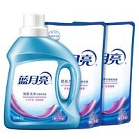 Bluemoon 蓝月亮 洗衣液 1kg瓶装+500g*2袋