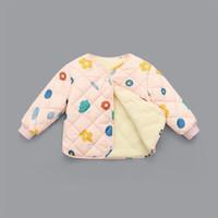 MODENGYUNMA 摩登孕妈 儿童加绒加厚保暖外套