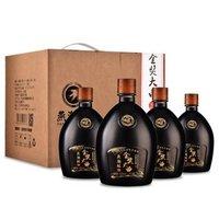 京东PLUS会员:燕潮酩 金奖大曲 52度浓香型白酒 750ml*4瓶