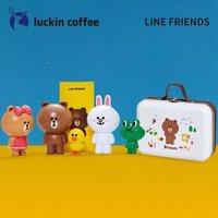 luckin coffee 瑞幸咖啡&LINE FRIENDS 盲盒随机公仔