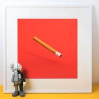 艺术品:美国艺术家 Daniel Forero 丹尼尔·弗雷罗 作品 《聪明烟》