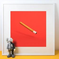 美国艺术家 Daniel Forero 丹尼尔·弗雷罗 作品 《聪明烟》