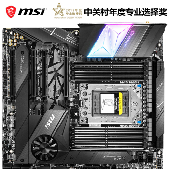 MSI 微星 CREATOR TRX40 主板(AMD TRX40/Socket sTRX4)