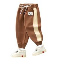 科普克 儿童冬季加绒休闲裤 *2件
