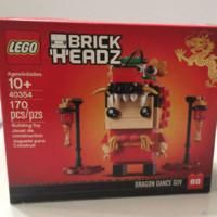 LEGO 乐高 0354舞龙人中国风 方头仔系列