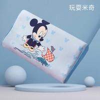 迪士尼(Disney)儿童乳胶枕小孩橡胶枕宝宝卡通小枕头幼儿园四季午睡枕