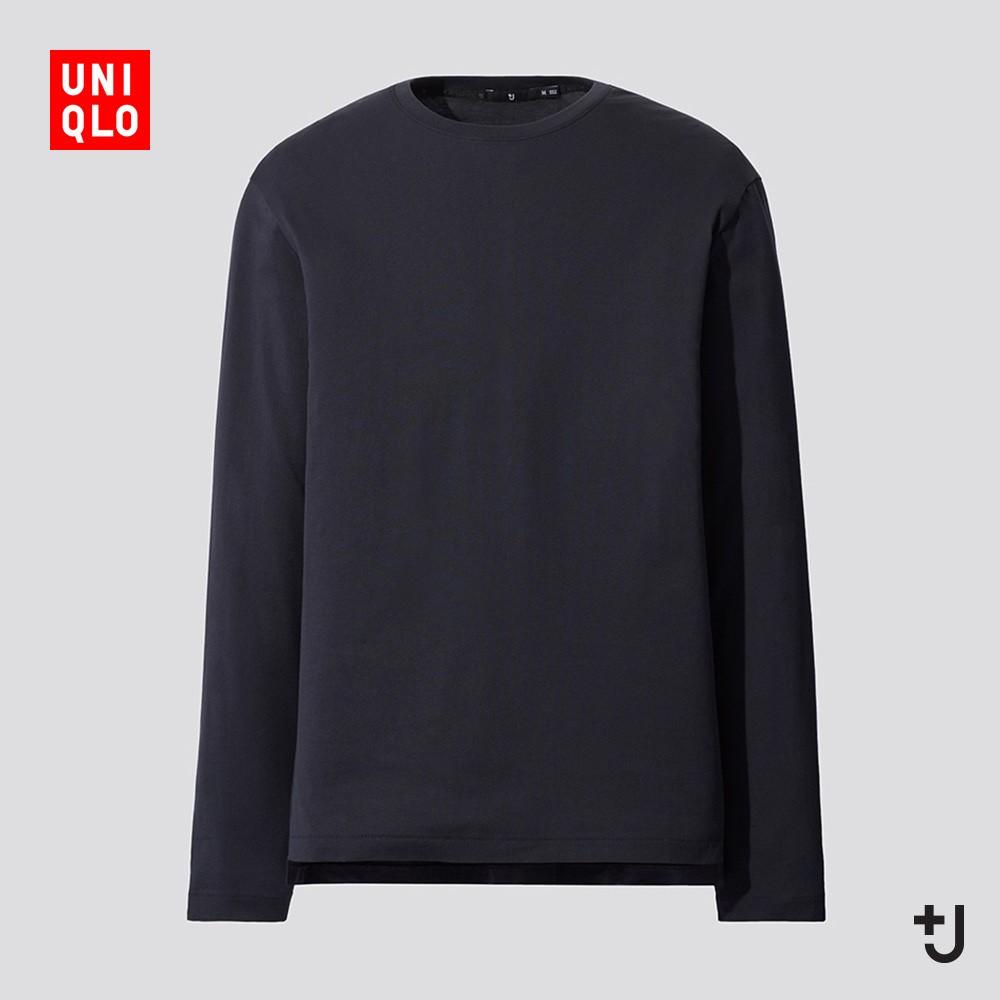 UNIQLO 优衣库 436134 男装 +J SUPIMA COTTON 圆领T恤