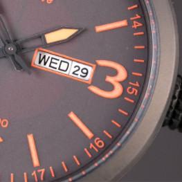 CITIZEN 西铁城 光动能系列 BM8475-26E 男士光动能手表 42mm 黑盘 棕色小牛皮表带 圆形