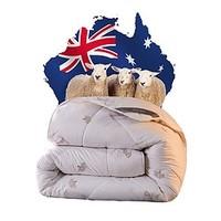 唯品尖货:BEYOND 博洋家纺 100%澳洲羊毛加厚冬被 150*210cm