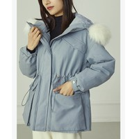 范思蓝恩 Z95535 女款派克服棉衣外套