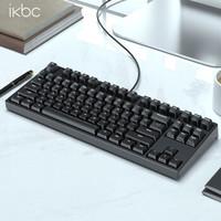 iKBC c87 机械键盘 Cherry红轴 黑色 正刻