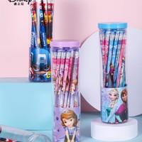 Disney 迪士尼 E0046 HB铅笔 带橡皮头 30支/桶