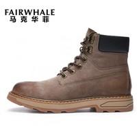 MARK FAIRWHALE 马克华菲 798396049028414 男士马丁靴