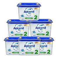 百亿补贴:Aptamil 爱他美 德国白金版 婴幼儿奶粉 2段 800g 6罐装