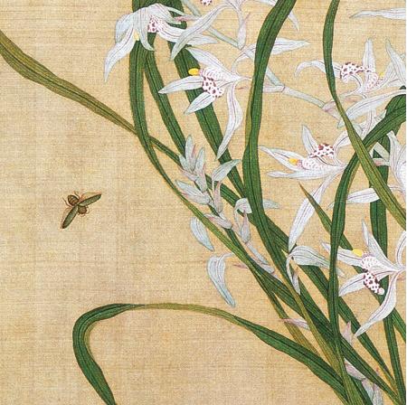 《花鸟册之7》余樨 水墨画国画 装饰画挂画 茶褐色 58×55cm