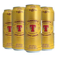 TENNENT'S 替牌 精酿啤酒听装 500ml*4听 *3件