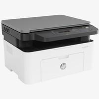 HP 惠普 Laser MFP 135W 黑白激光多功能一体机