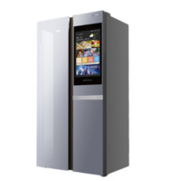 SKYWORTH 创维 WS515Pi 变频对开门冰箱 515L 银色