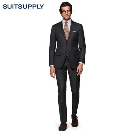 Suitsupply Napoli P5335A 男士羊毛西装套装