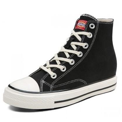 Dickies 帝客 193W50LXS25G-BGE 女士高帮内增高帆布鞋 *2件