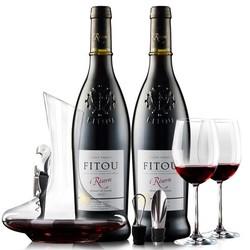菲特瓦 干红葡萄酒  750ml*6瓶