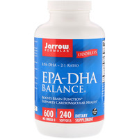 Jarrow Formulas 杰诺EPA-DHA 平衡软胶囊 240粒装
