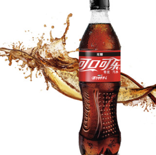 Coca Cola 可口可乐 零度 碳酸饮料 500ml*24瓶