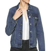 暖爱季:Gap 盖璞 000232233 女装 基本款时尚舒适纯棉牛仔夹克
