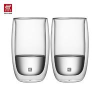 ZWILLING 双立人 双层拿铁玻璃杯 2件套